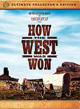 How The West Was Won Ultimate Collector's Edition Dvd Brand New MGM