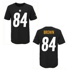 Pittsburgh Steelers Antonio Brown Black Youth Nike Player Pride Tee2 T-Shirt