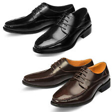 Mooda Mens Leather Shoes Classic Formal Oxfords Dress Shoes VellaL UK