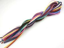 New 10M Mixed Soft Velvet Suede Faux Leather Bracelet Necklace Jewelry DIY Cords