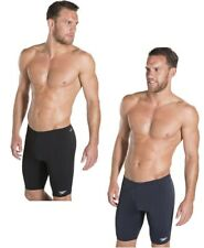 Mens Speedo Endurance+ Swimming Swim Jammer Jammers Swimwear - Black & Navy