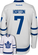 Tim Horton New Toronto Maple Leafs NHL Away Reebok Premier Hockey Jersey