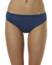 New Moontide Contours Ruched Front Separate Pant Womens Swimming Separate Blue