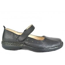 Borelli Jill Womens Black Mary Jane, Single Strap Shoe Leather (bkjane)