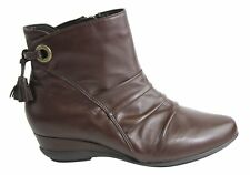 Hush Puppies Emerald Brown Womens Ankle Boot (bremer)
