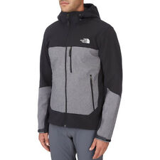 North Face Apex Bionic Hooded Mens Jacket Softshell - Tnf Black Heather