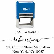 Pre-Inked Personalized Stamper Invitation Custom Save The Date Address Stamp