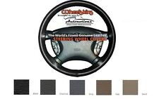 Custom Fit Leather Steering Wheel Cover Wheelskins Smooth Perforated 15 X 4 1/8