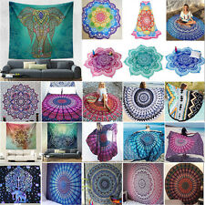 Indian Large Ombre Mandala Tapestry Wall Hanging Hippie Bedspread Bohemian Throw