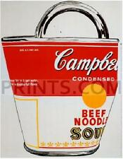Andy Warhol Campbell's Soup Bag NO LONGER IN PRINT - LAST ONE!!
