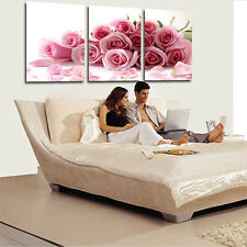 3 Pcs Romantic Love Theme Painting Frameless Pictures Living Room Decor Stylish
