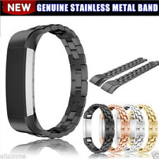 Genuine Stainless Steel Watch Band Bracelet Wrist Strap For Fitbit Alta Tracker
