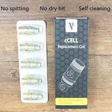 5pcs original Vaporesso cCell Ni200 replacement coil head for Target tank Xmas