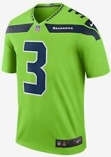 Nike NFL Color Rush Legend Edition Seattle Seahawks Russell Wilson Legend Jersey