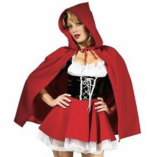 Little Red Riding Hood Costume Adult Sexy Halloween Fancy Dress 888626