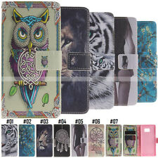 For Samsung Galaxy Phone Skin Flip Card Slot PU Leather Wallet Case Hybrid Cover