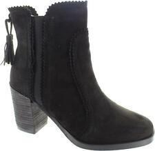 Cara London Scorch Womens Formal Black Side Zip Up High Heel Ankle Boots New