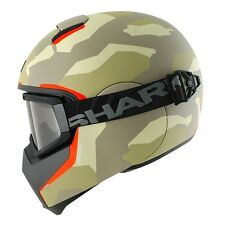 SHARK VANCORE WIPEOUT FULL FACE URBAN MOTORCYCLE HELMET - Matt EAO - Sale Offer
