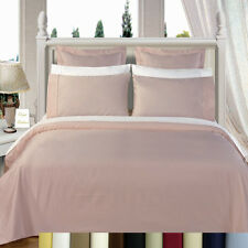 8PC Bed in a Bag 600TC- Down Alternative Comforter, 100% Cotton