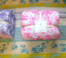 Pottery Barn Kids  Floral Quilt size Twin purple, pink NWT