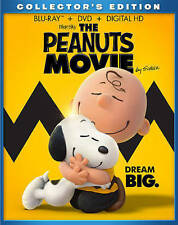 The Peanuts Movie (DVD 2016)  *****NEVER BEEN VIEWED DVD DISC ONLY*****