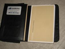 07 Subaru Legacy Outback Complete Owners Manual and Case OEM