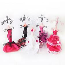Lady Mannequin Holder Earring Bracelet Necklace Jewelry Display Stand Organizer