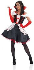 Women's Queen Of Hearts Fancy Dress Costume 20-22 XL Alice In Wonderland Outfit
