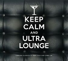 KEEP CALM AND ULTRA LOUNGE 2 CD NEW! FRANK SINATRA/PEGGY LEE/ELLA FITZGERALD/+