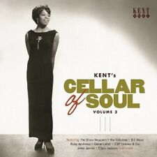 KENT'S CELLAR OF SOUL VOL.3  CD NEW! - THE IKETTES, BRENTON WOOD, THE ESQUIRES