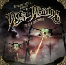 JEFF WAYNE - JEFF WAYNE'S MUSICAL VERSION OF THE WAR OF THE WORLDS  2 CD NEW!