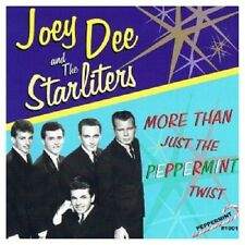 JOEY DEE AND THE STARLITERS - MORE THAN JUST THE PEPPERMINT TWIST  CD POP NEW!