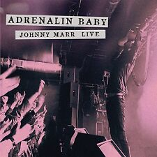 JOHNNY MARR - ADRENALIN BABY-JOHNNY MARR LIVE  CD NEW!