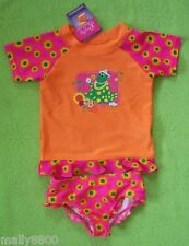 Girls - Wiggles Dorothy - Rash Top Set  UPF 50+ - Size 4