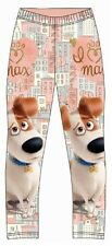 OFFICIAL FULLY LICENSED SECRET LIFE OF PETS LEGGINGS 2-8 YEARS