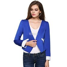 Fashion Women Long Sleeve Jackets V Business Suit Casual Lady Coat Spring Tops