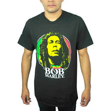 Zion Rootswear Bob Marley Black Licensed T-Shirt New Sizes S-2XL