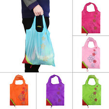 1pc Strawberry Foldable Shopping Bag Tote Reusable Eco Friendly Grocery Bag SY