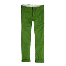 NWT ABERCROMBIE A&F By Hollister MENS Skinny Chino Pants Green $78