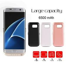 6500mAh Portable External Backup Battery Power Bank Charger Case For Samsung S7