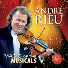 ANDRÉ RIEU - MAGIC OF THE MUSICALS  CD NEW!