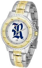 Rice University Owls Men's Two Tone Dress Watch