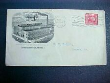 Tennessee: Chattanooga 1907 Thatcher Medicine Factory Advertising Cover