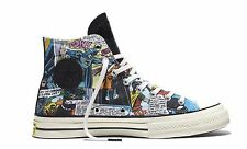 New CONVERSE CHUCK TAYLOR ALL STAR HI TOP '70 DC COMICS BATMAN Black CT 155359C