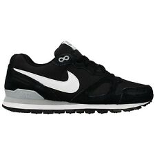 Men's Nike Air Waffle Trainer Running Shoes Black White Grey (429628 034)