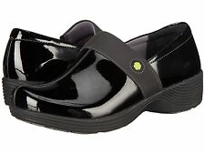 Dansko Work Wonders Camellia Black Patent Leather Nurses Clogs Doctor Shoes Chef