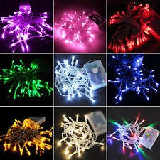 20/30/40/80LED Bulb Battery Power Operated Fairy String Lights Xmas Home Decor