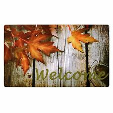 Fall Winter Christmas Printing Decorative Mat  Indoor/Outdoor Welcome Doormat