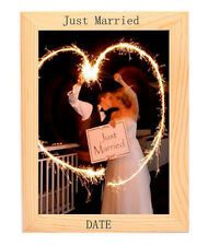 Wooden Photo Frame Personalised Engraved Custom Create Your Christmas Present