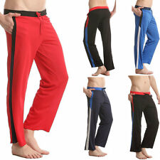 Cozy Men's Casual Trousers wicking Mesh Long jogging Sport pants Sweat pants